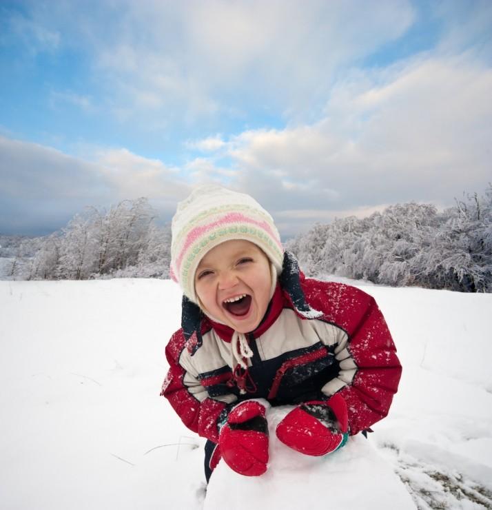 4+1 δημιουργικές δραστηριότητες στο χιόνι!
