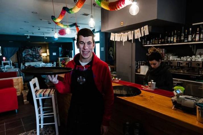 Μια ξεχωριστή καφετέρια στην Αθήνα