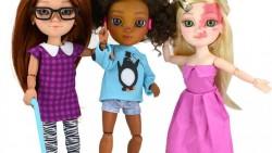 Οι πρώτες κούκλες που αναπαριστούν άτομα με ειδικές ανάγκες